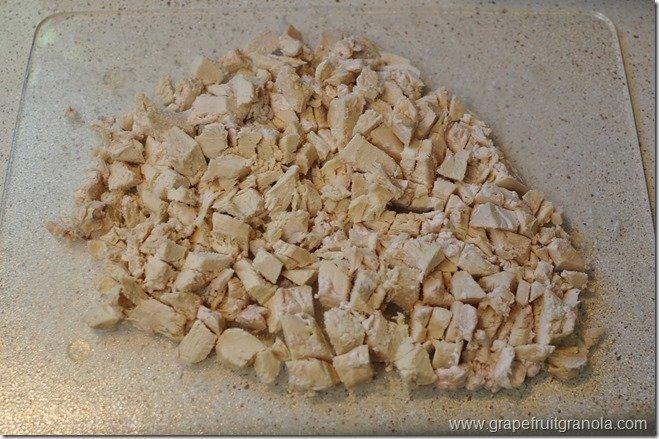 Crock Pot Diced Chicken Grapefruit Granola
