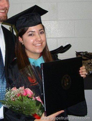 Grapefruit & Granola Grad School Graduation