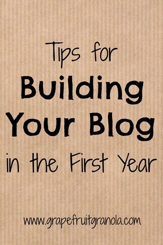 Tips for Growing Your Blog in the First Year