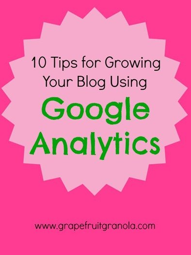 10 Tips for Growing Your Blog Using Google Analytics