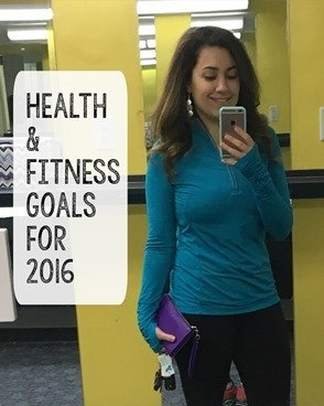 Health and fitness goals for 2016