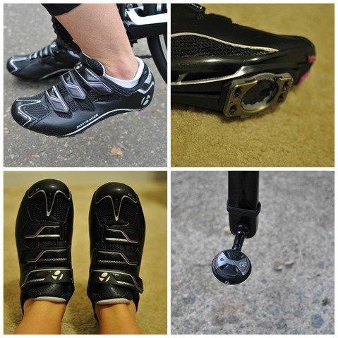 Grapefruit Granola Speedplay Pedals Bontrager Shoes
