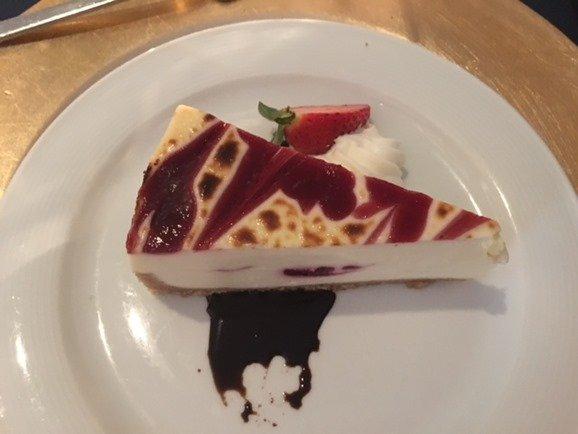 JDRF Hope Gala 2016 dessert