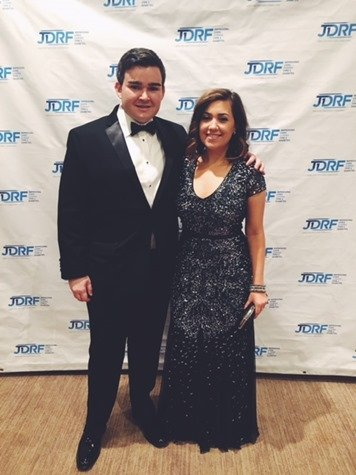 JDRF Hope Gala step and repeat