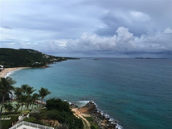 Frenchman's Reef St. Thomas view from the hotel