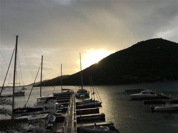 Scrub Island Sunset 1