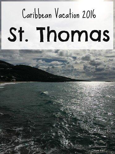St. Thomas Vacation Recap