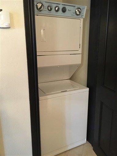 Washer Dryer Scrub Island Suite
