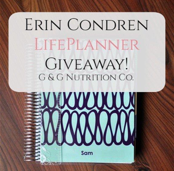 Erin Condren LifePlanner Giveaway