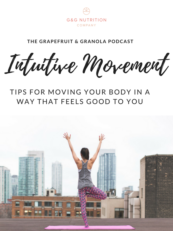 Intuitive movement: tips for moving your body in a way that makes you feel your best.
